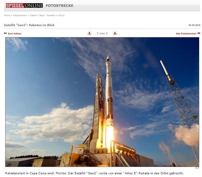Atlas5 launch