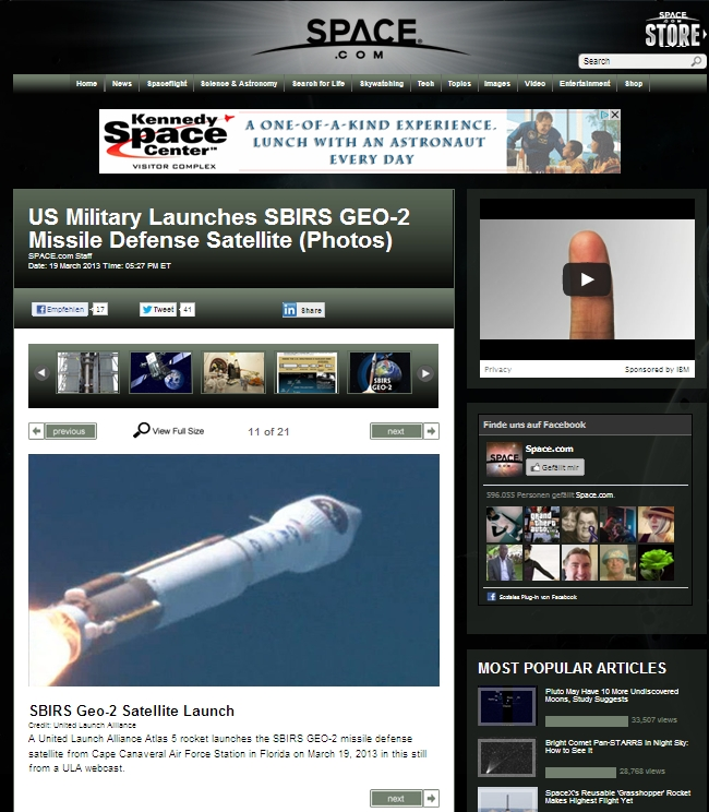 Atlas5 launcha